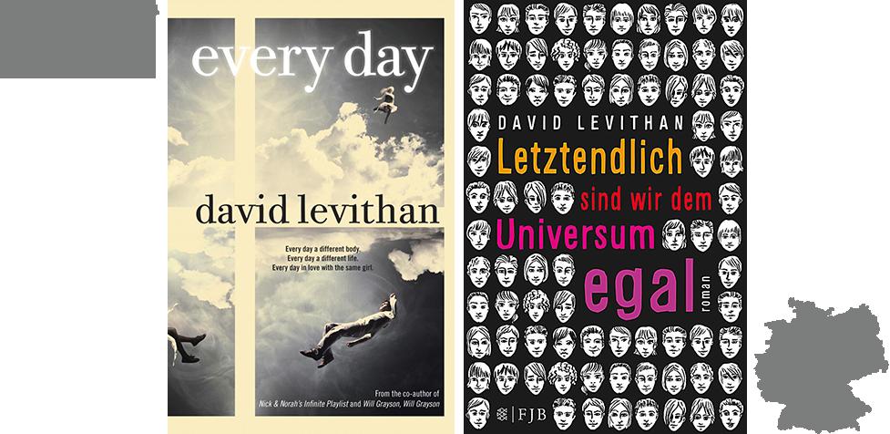 BCC #4 - Every Day - Letztendlich sind wir dem Universum egal - David Levithan