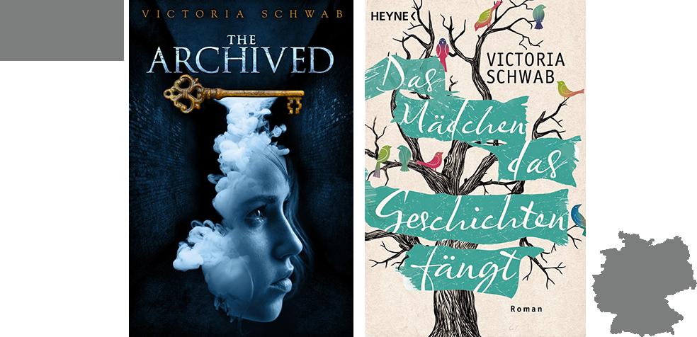 BCC #5 - The Archived - Das Mädchen, das Geschichten fängt - Victoria Schwab