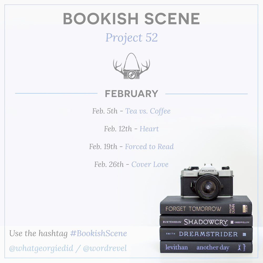 Bookish Scene: Project 52 — February Themes