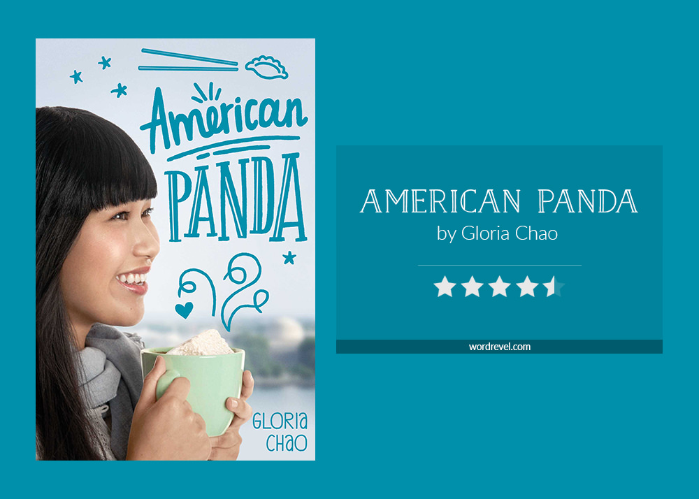 Book cover & rating - AMERICAN PANDA by Gloria Chao