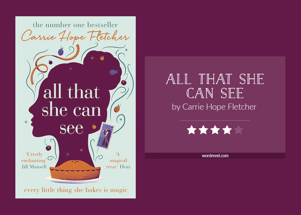 Book cover & rating - All That She Can See by Carrie Hope Fletcher