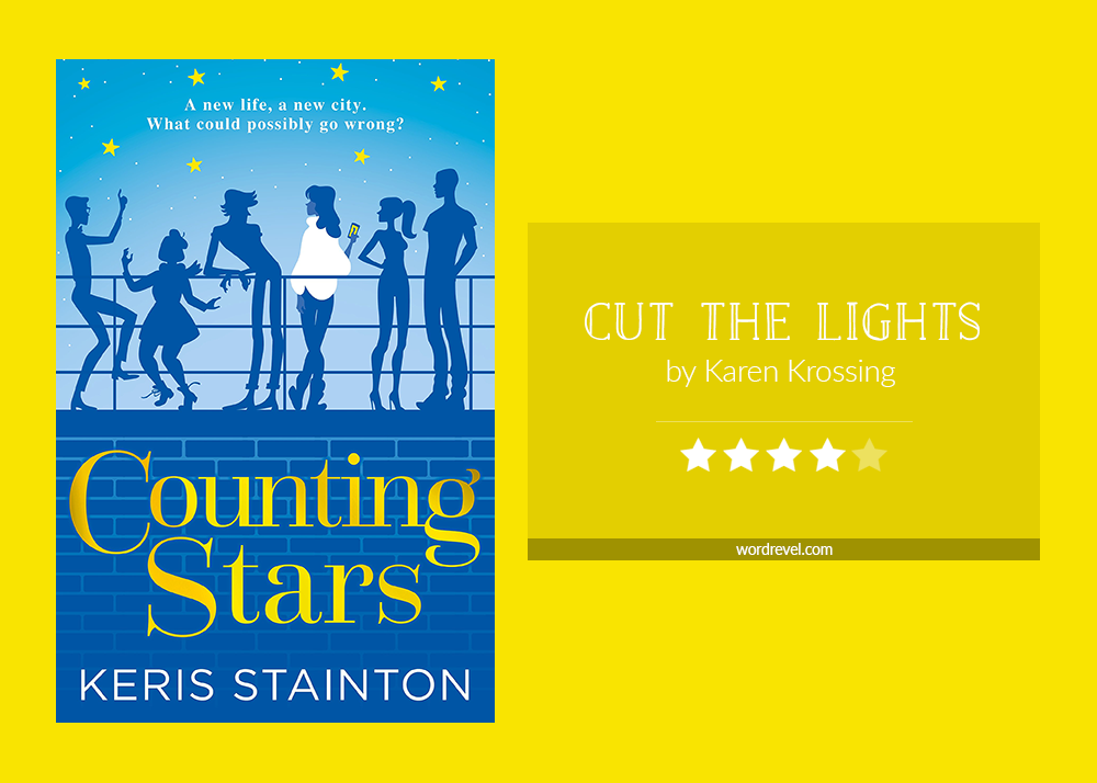 Book cover & rating - COUNTING STARS by Keris Stainton