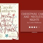 Book cover & 3.5-star rating - CHRISTMAS CAKES AND MISTLETOE NIGHTS by Carole Matthews