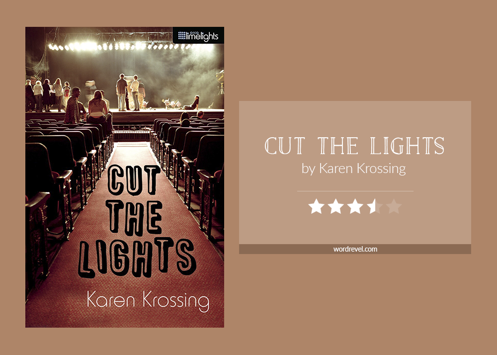 Book cover & rating: Cut the Lights by Karen Krossing