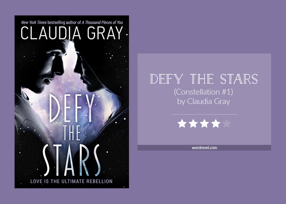 Book cover & rating - DEFY THE STARS by Claudia Gray