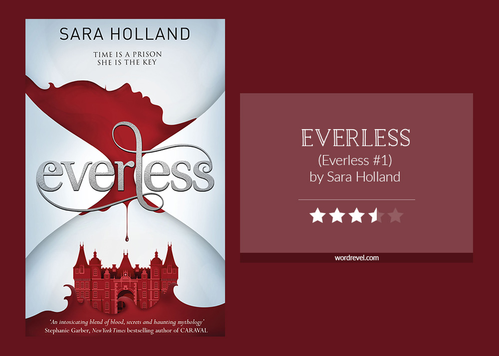 Book cover & rating - EVERLESS by Sara Holland