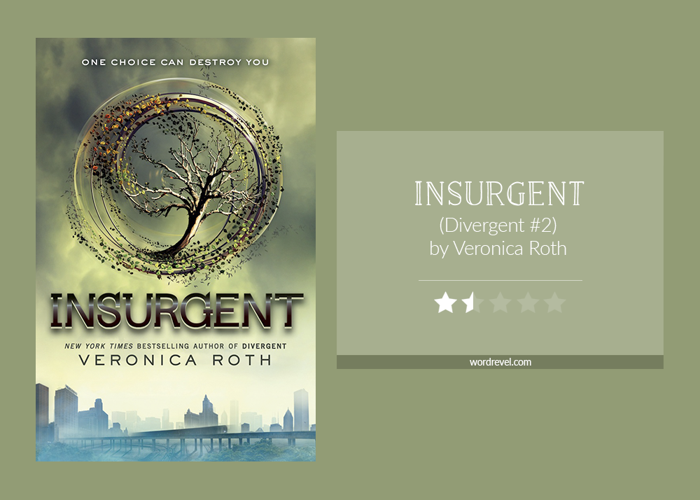Book cover & rating: Insurgent by Veronica Roth