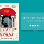 Book cover & rating - LOST FOR WORDS by Stephanie Butland