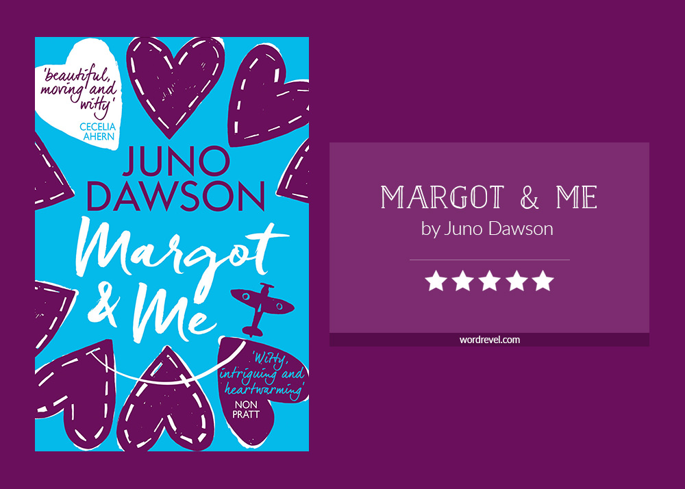 Book cover & rating - MARGOT & ME by Juno Dawson