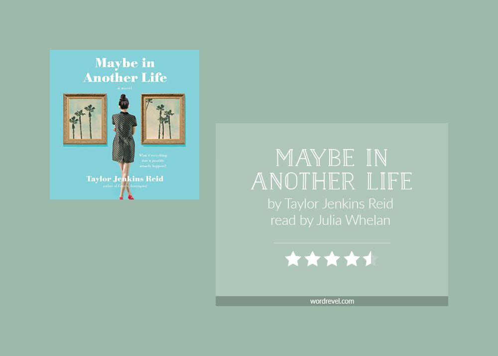 Book cover & rating - MAYBE IN ANOTHER LIFE by Taylor Jenkins Reid
