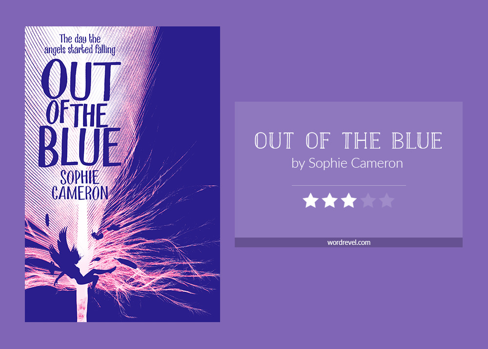 Book cover & rating - OUT OF THE BLUE by Sophie Cameron