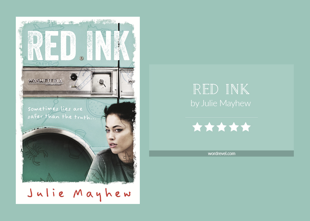 Book cover & rating - RED INK by Julie Mayhew