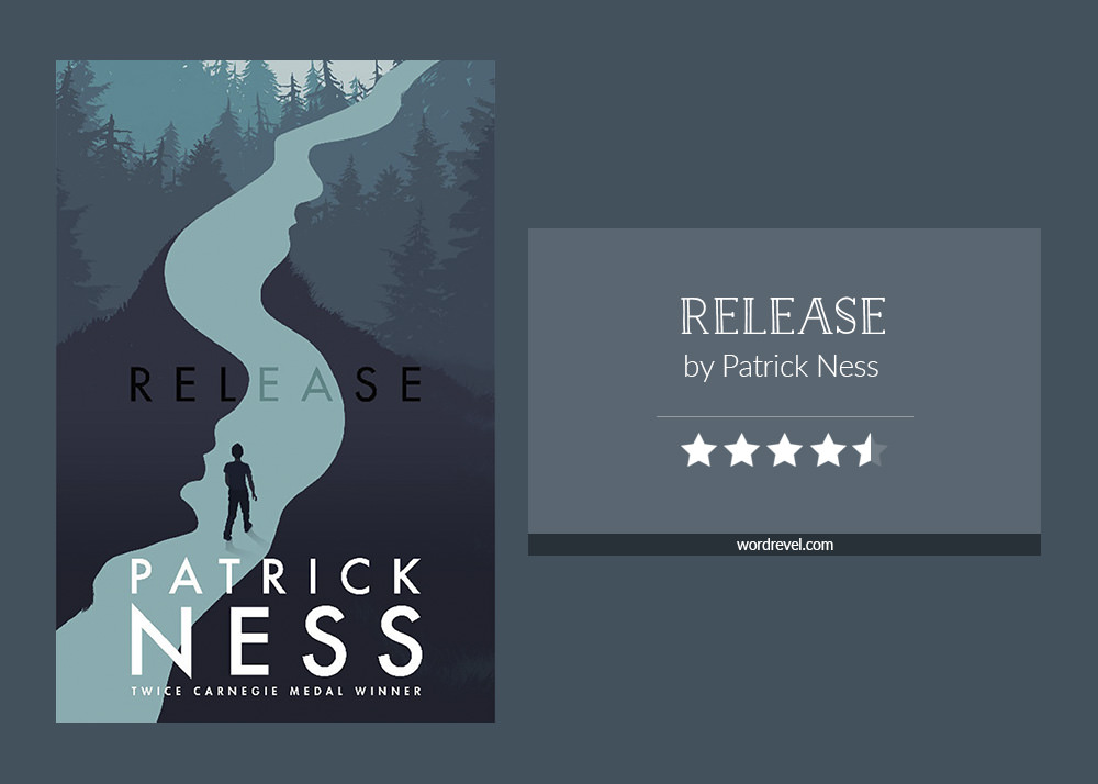 Book cover & rating - RELEASE by Patrick Ness