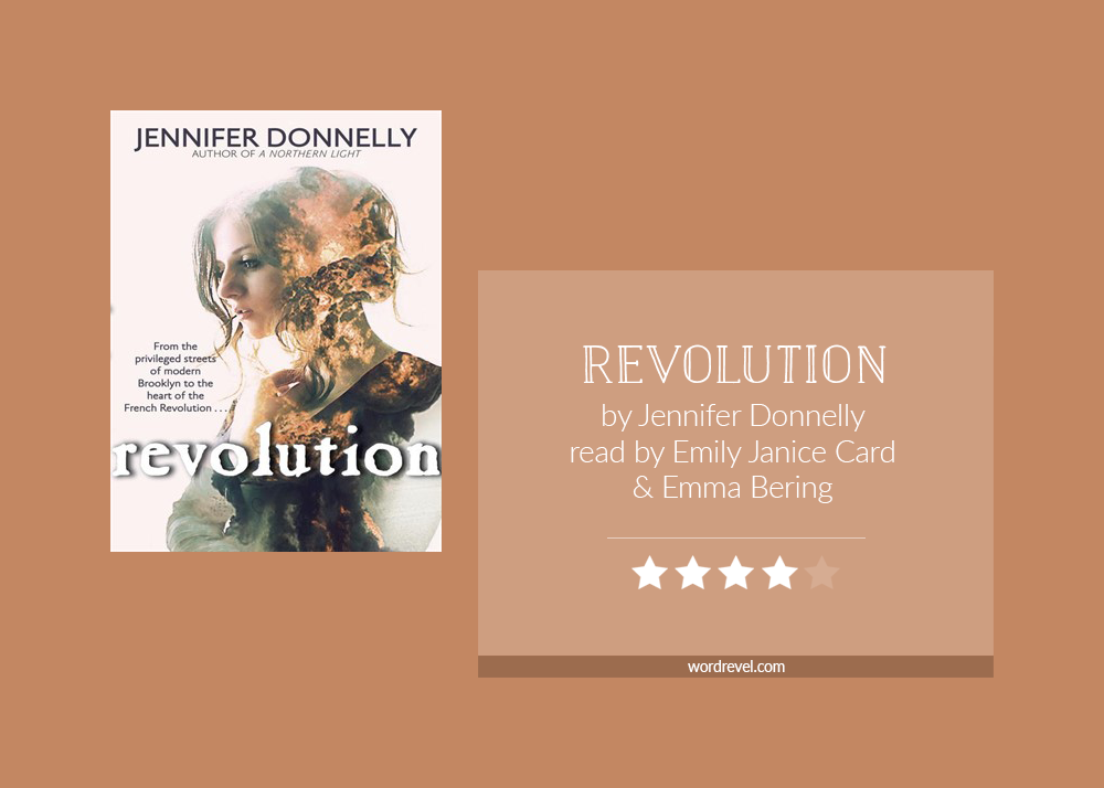 Book cover & rating - REVOLUTION by Jennifer Donnelly