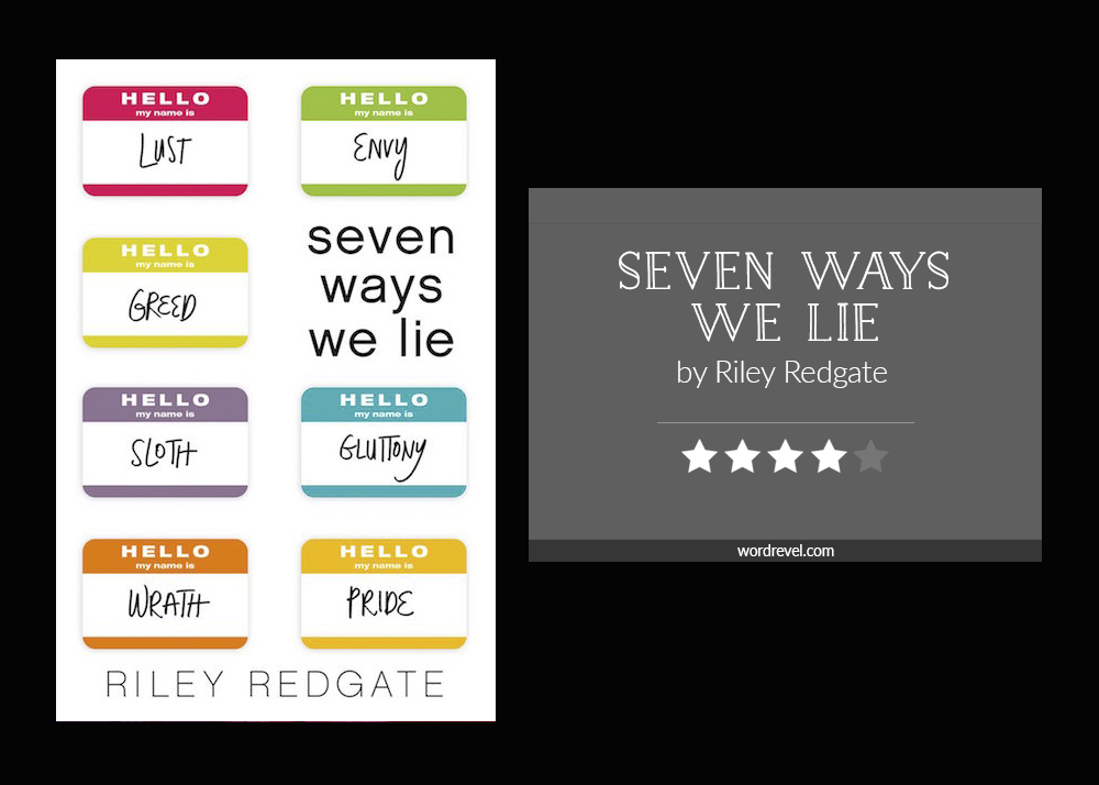 Book cover & rating - SEVEN WAYS WE LIE by Riley Redgate