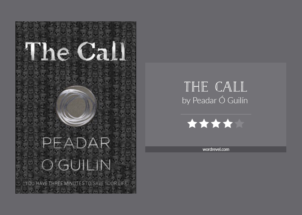 Book cover & rating - THE CALL by Peadar Ó Guilín