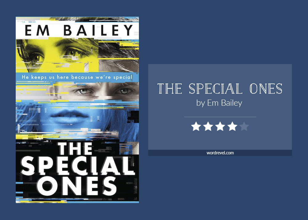 Book cover & rating - THE SPECIAL ONES by Em Bailey