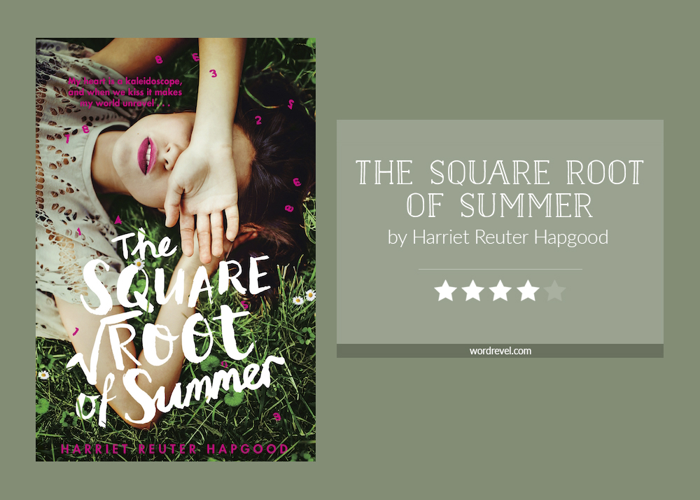 Book cover & rating - THE SQUARE ROOT OF SUMMER by Harriet Reuter Hapgood