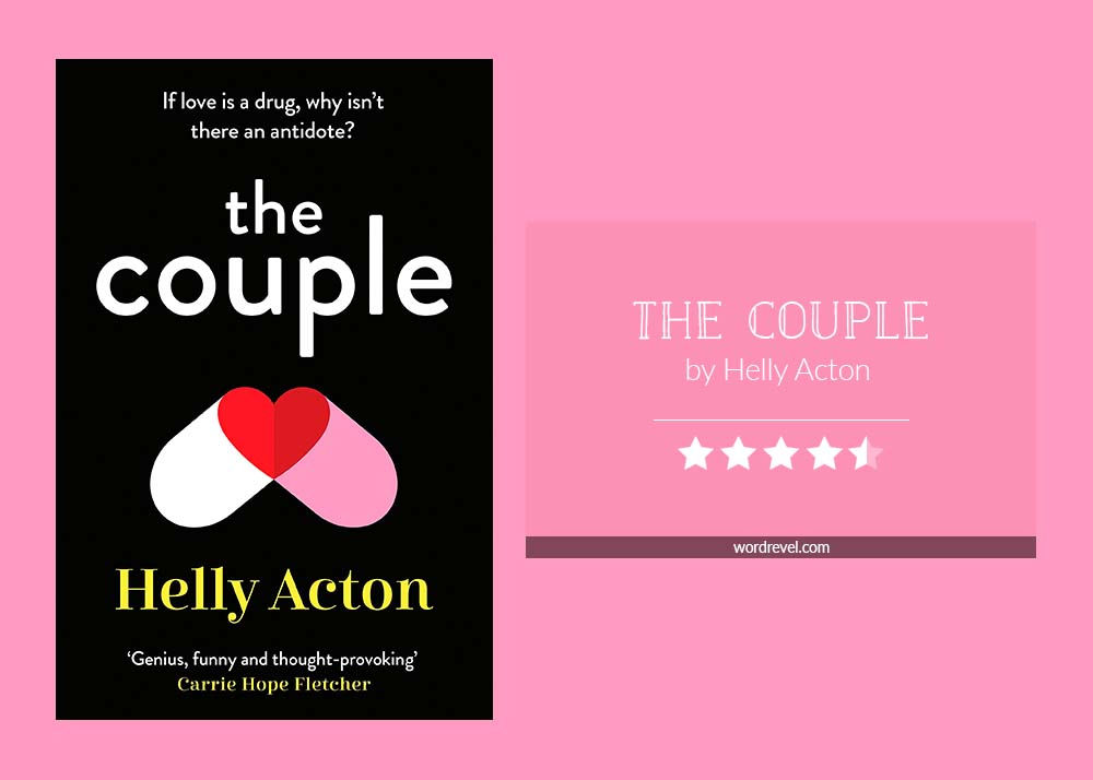 Book cover & 4.5-star rating - The Couple by Helly Acton