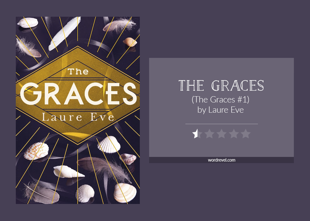 Book cover & rating - The Graces by Laure Eve