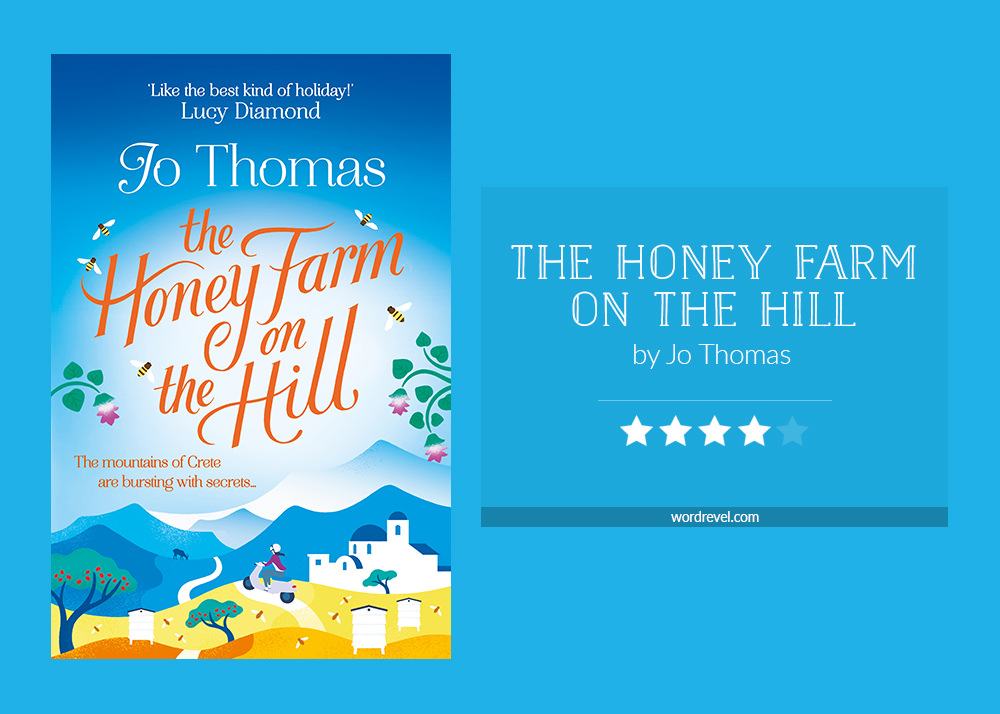 Book cover & rating - The Honey Farm on the Hill by Jo Thomas