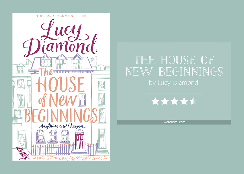Book cover & rating - The House of New Beginnings by Lucy Diamond