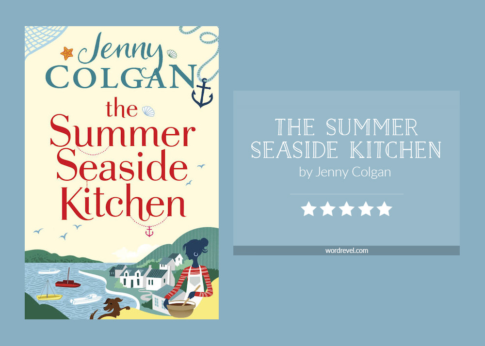 Book cover & rating - The Summer Seaside Kitchen by Jenny Colgan
