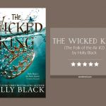 Book cover & 5-star rating for The Wicked King by Holly Black