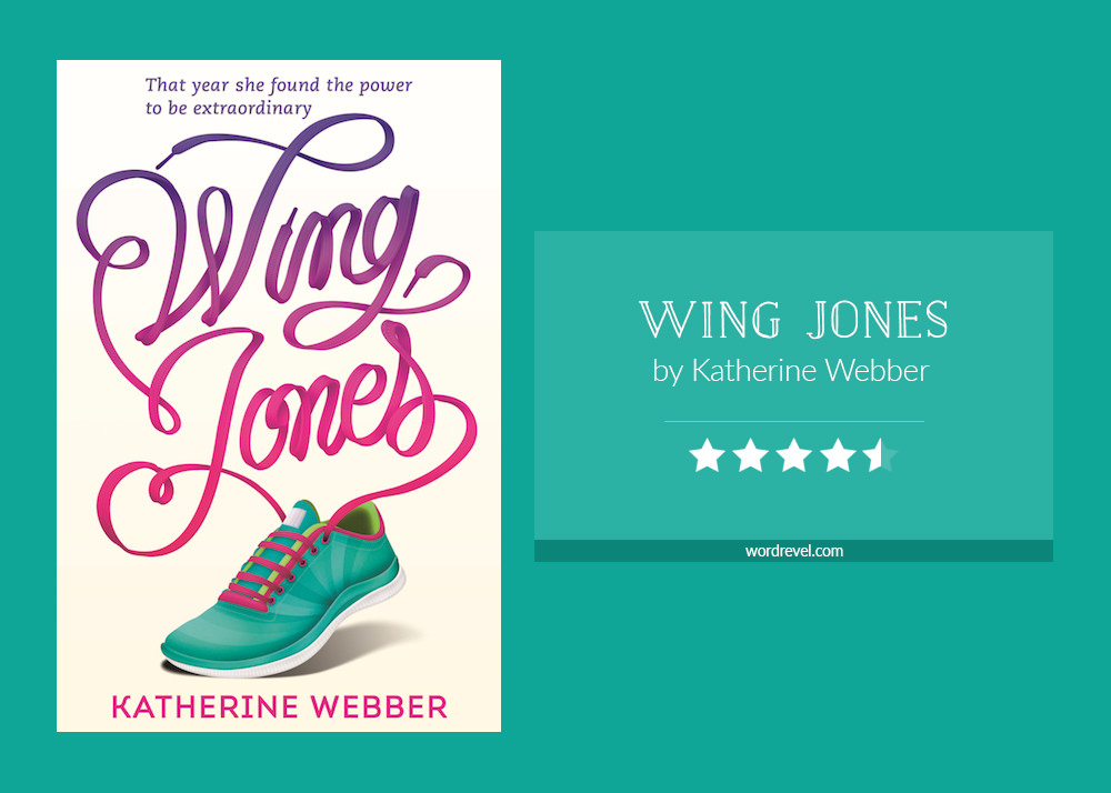 Book cover & rating - WING JONES by Katherine Webber
