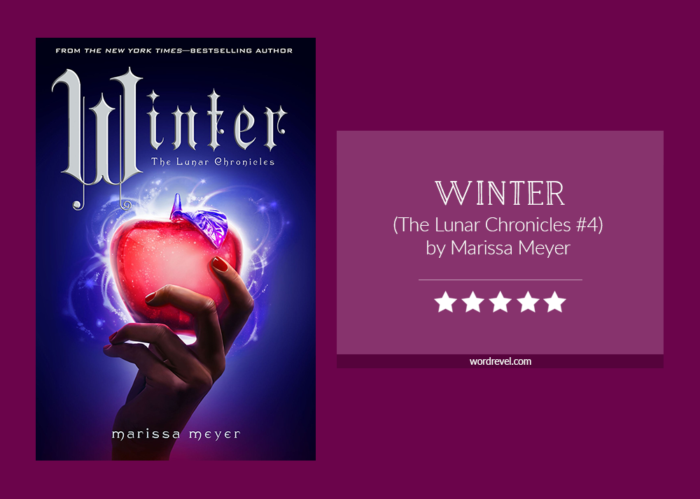 Book cover & rating - Winter by Marissa Meyer
