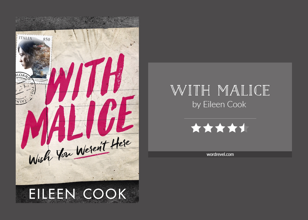 Book cover & rating - With Malice by Eileen Cook