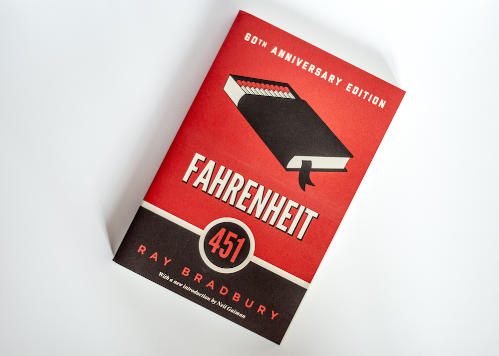 Book on white background - Fahrenheit by Brad Raybury