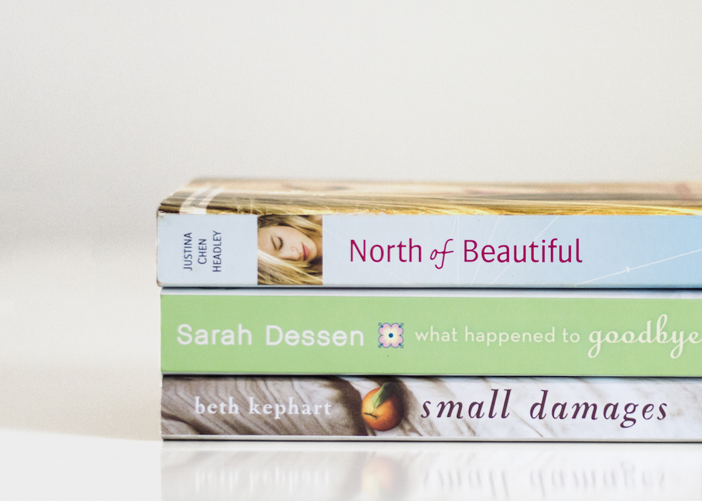 Book stack with backlist titles