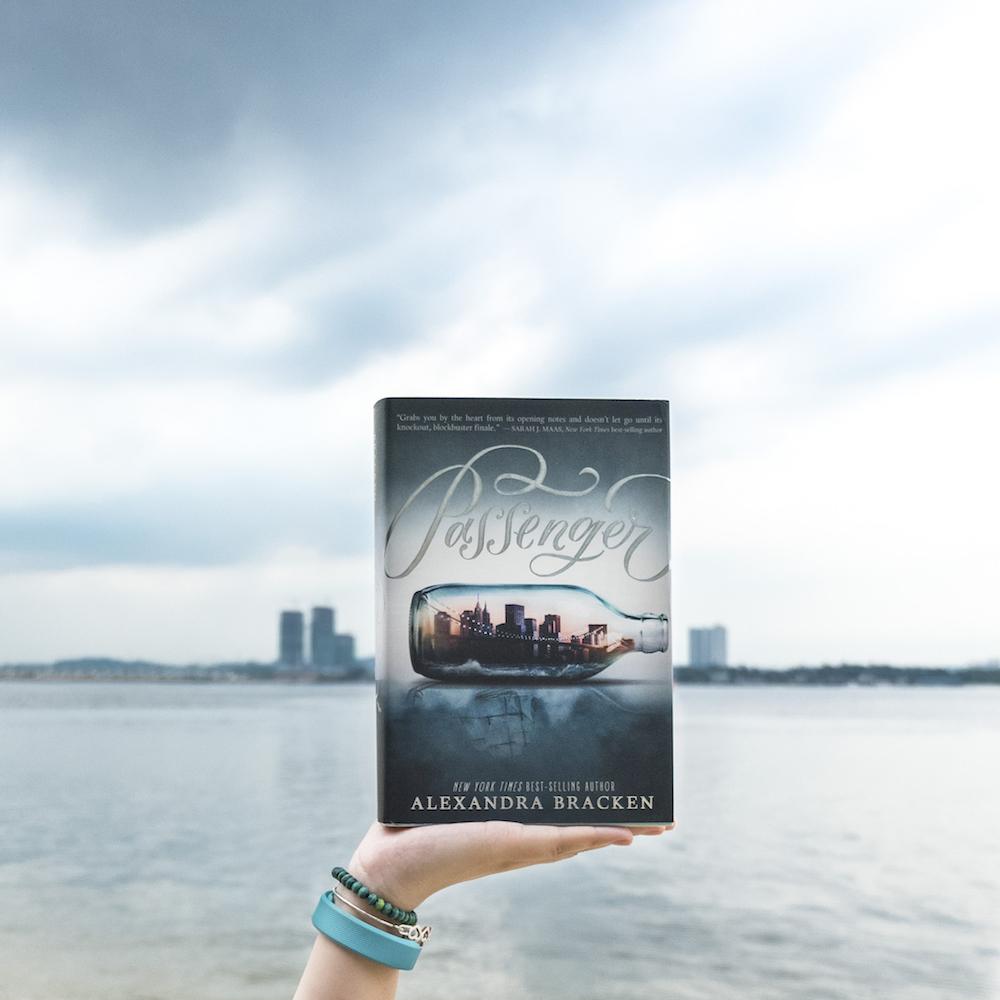 Bookish Scene: Project 52 – Beach (The Passenger by Alexandra Bracken)