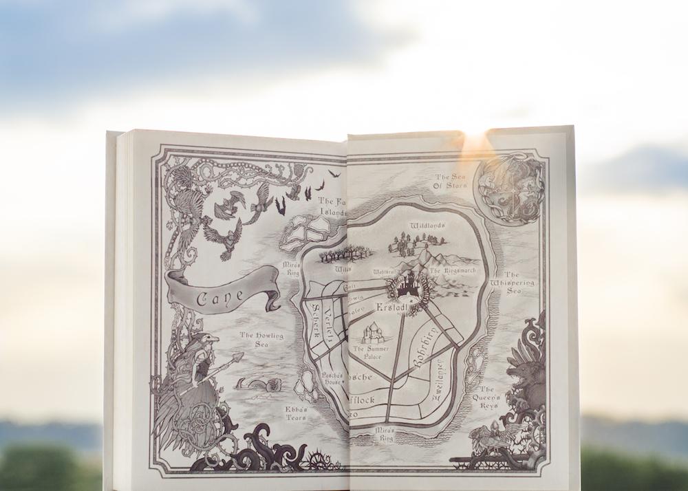 Bookish Scene: Sunshine - Map of Winterspell