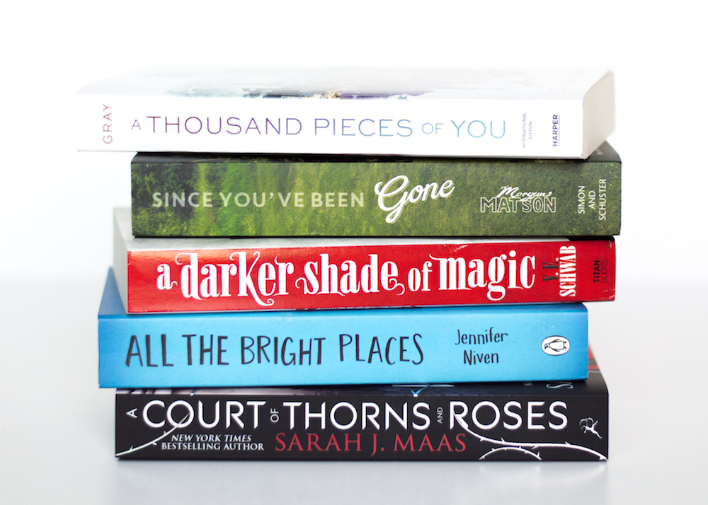 Bookstack with pre-publication hype