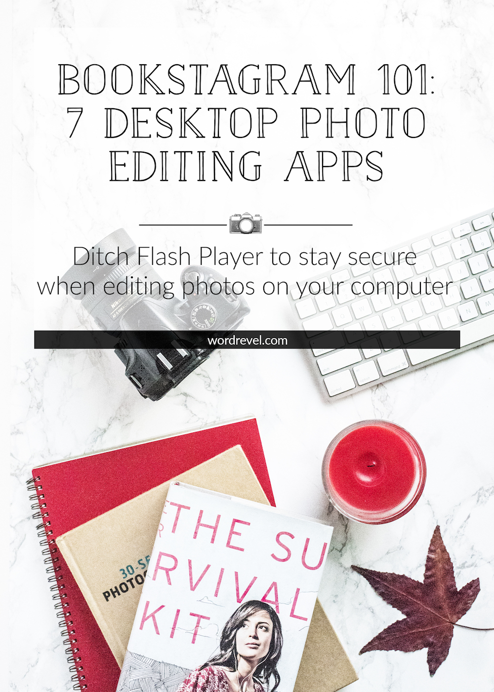 Bookstagram 101 - 7 Desktop Photo Editing Apps