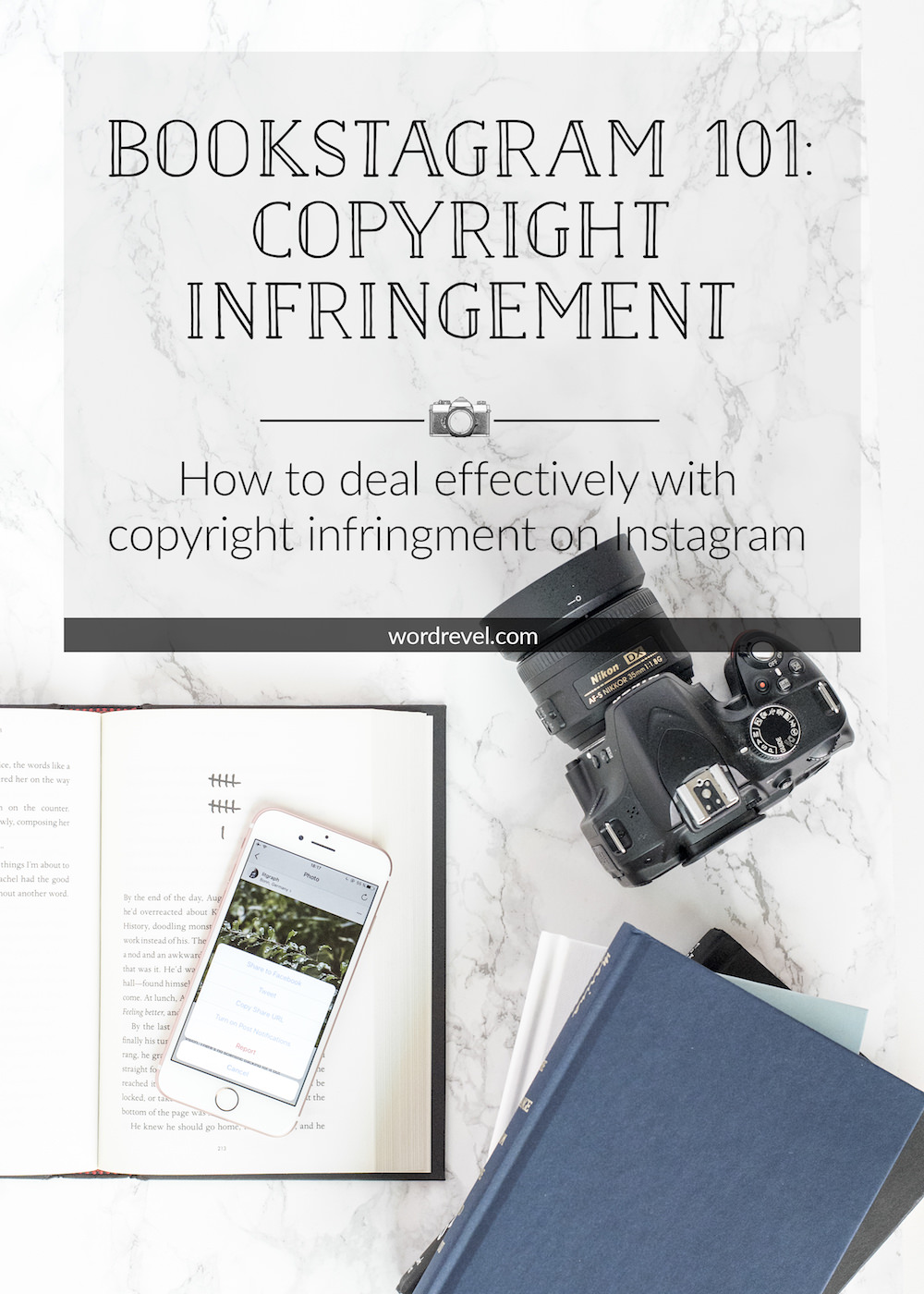 Bookstagram 101 - Dealing with Copyright Infringement