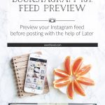 Bookstagram 101: Preview Feed