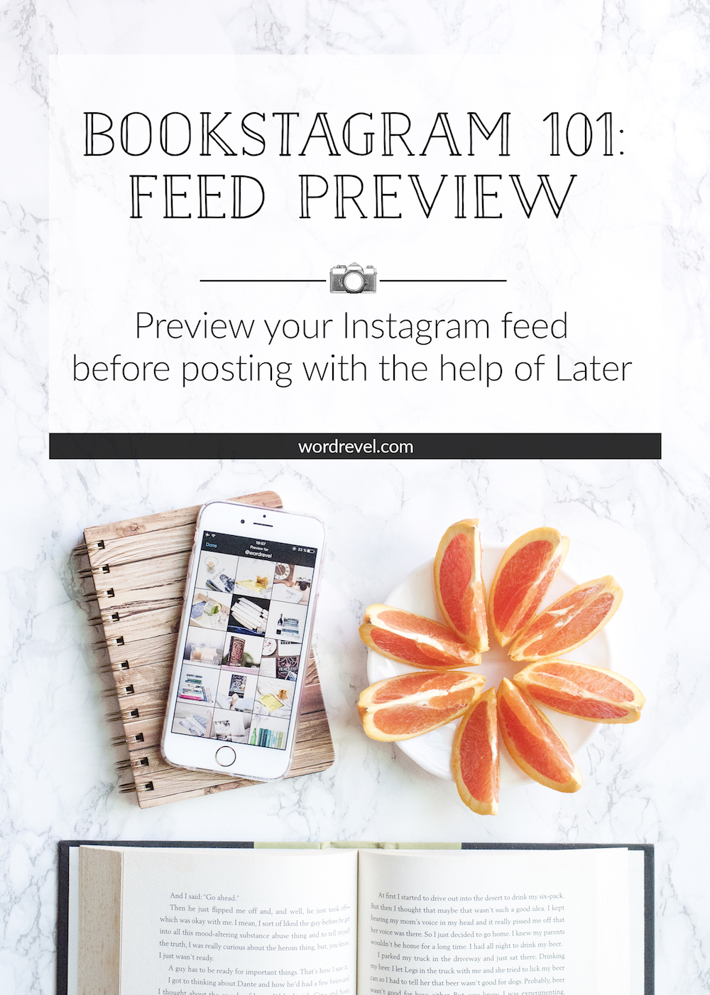 Bookstagram 101 - Feed Preview