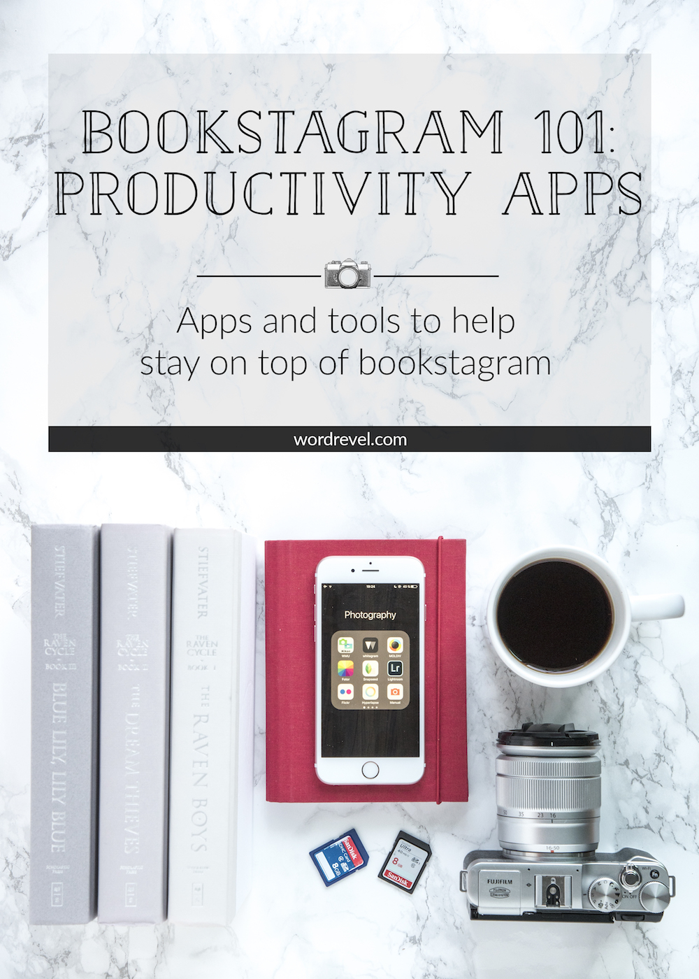 Bookstagram 101: Productivity Apps