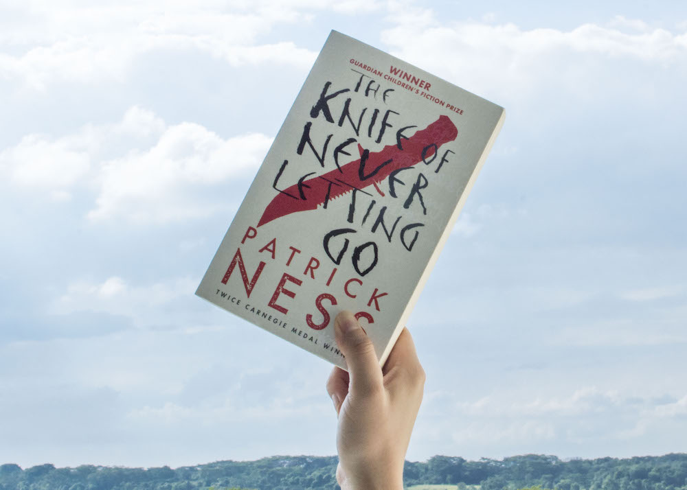 Bout of Books Jan 2016 Day 3 - The Knife of Never Letting Go