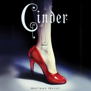 Audiobook cover of CINDER by Marissa Meyer narrated by Rebecca Soler