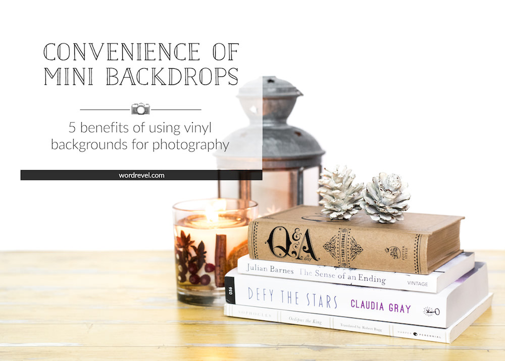 Convenience of Mini Backdrops — 5 benefits of using vinyl backgrounds for photography