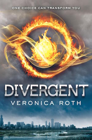 Book cover of DIVERGENT (Divergent #1) by Veronica Roth