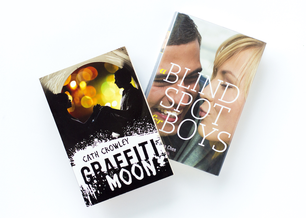 Epic Recs Feb 2015 - Graffiti Moon by Cath Crowley and A Blind Spot for Boys by Justina Chen
