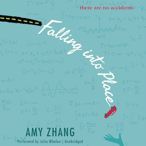 Audiobook cover of FALLING INTO PLACE by Amy Zhang