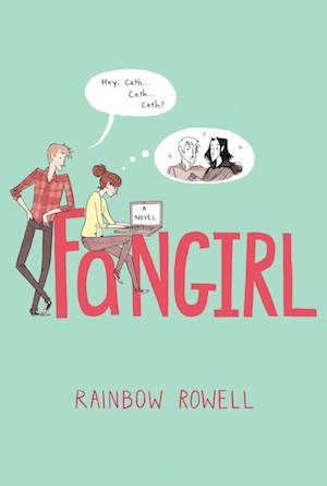 Book cover of FANGIRL by Rainbow Rowell