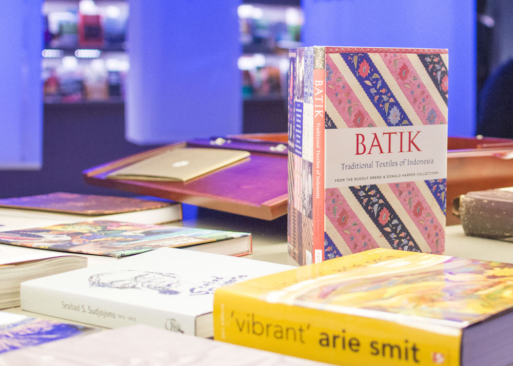 Frankfurt Book Fair 2015: Books about Indonesian crafts