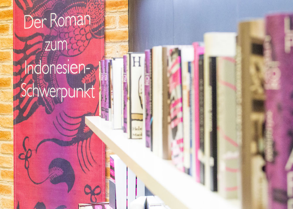 Frankfurt Book Fair 2015: Books themed around Indonesia